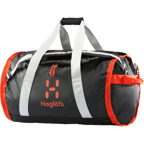 Haglöfs Lava 90 Duffel Bag, true black/habanero